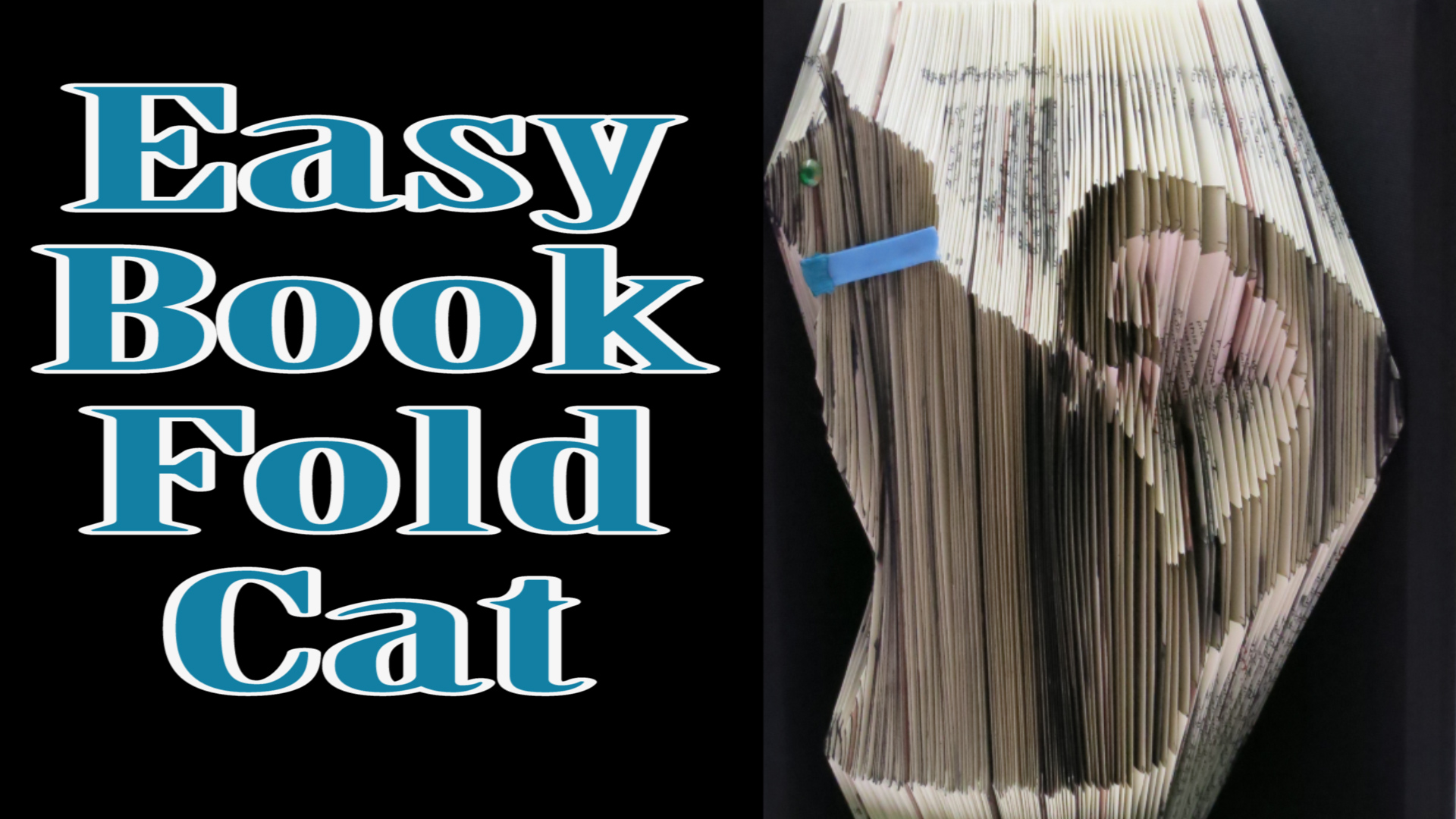 basic book folding instructions