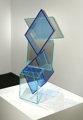 Slippage Register, 2007 Plexiglass 25Hx13Wx13D inches : 64x33x33 cm.jpg