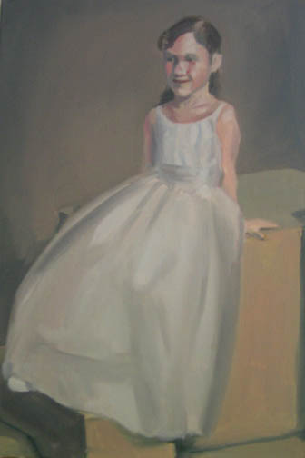 Flower Girl;27%22x17%22;oil on canvas;2007.jpg