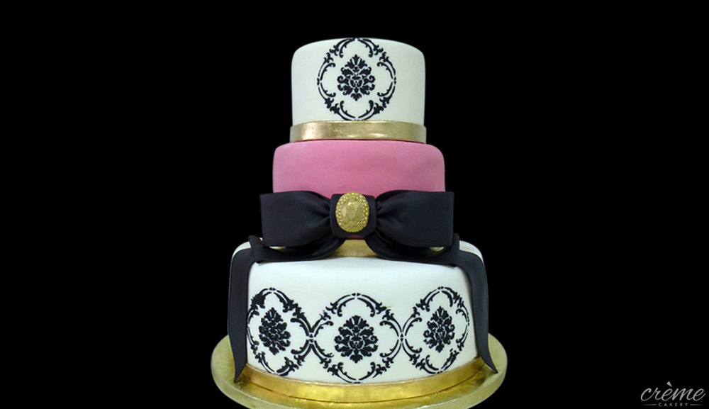 Fondant Sweet 16 Cake