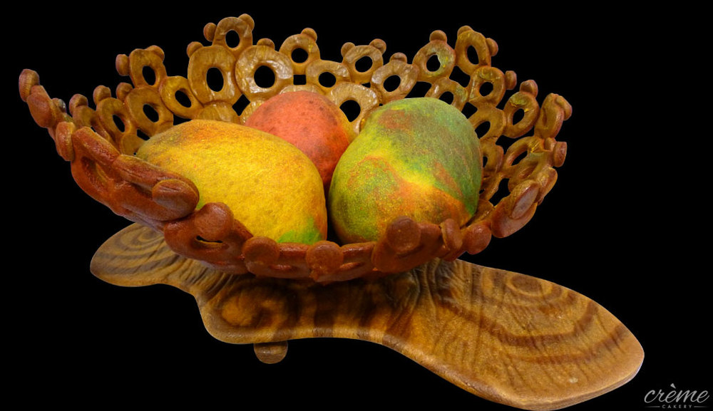 Basket of Mangos