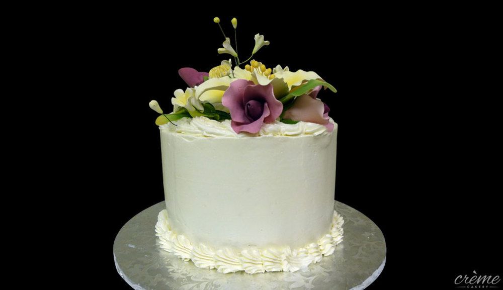Buttercream Anniversary Cake