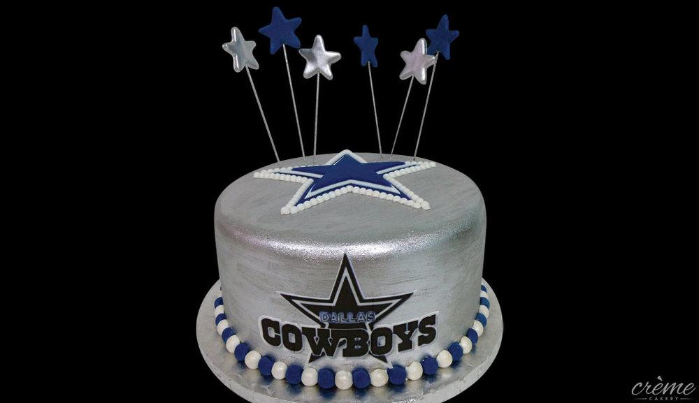 Dallas Cowboys Birthday Cake Pictures