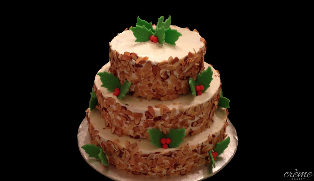 Buttercream Holiday Cake