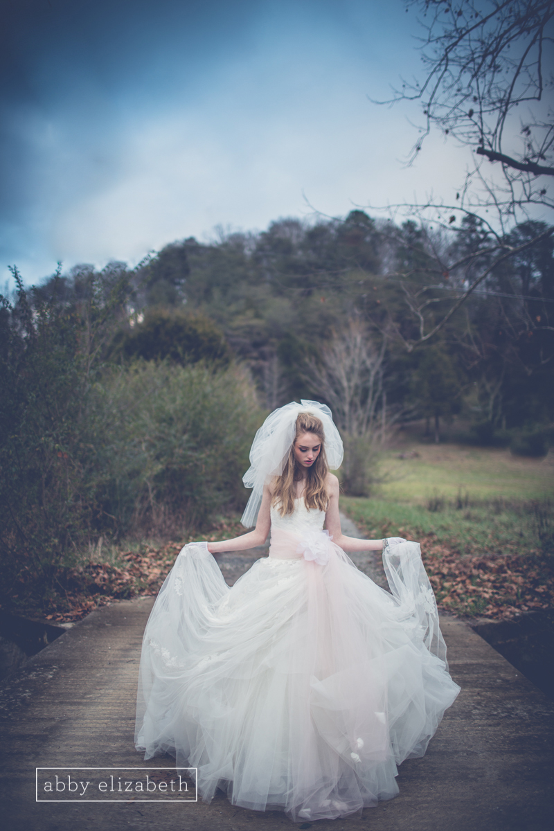 I am in love with the fairytale drama the layers of this gown create!