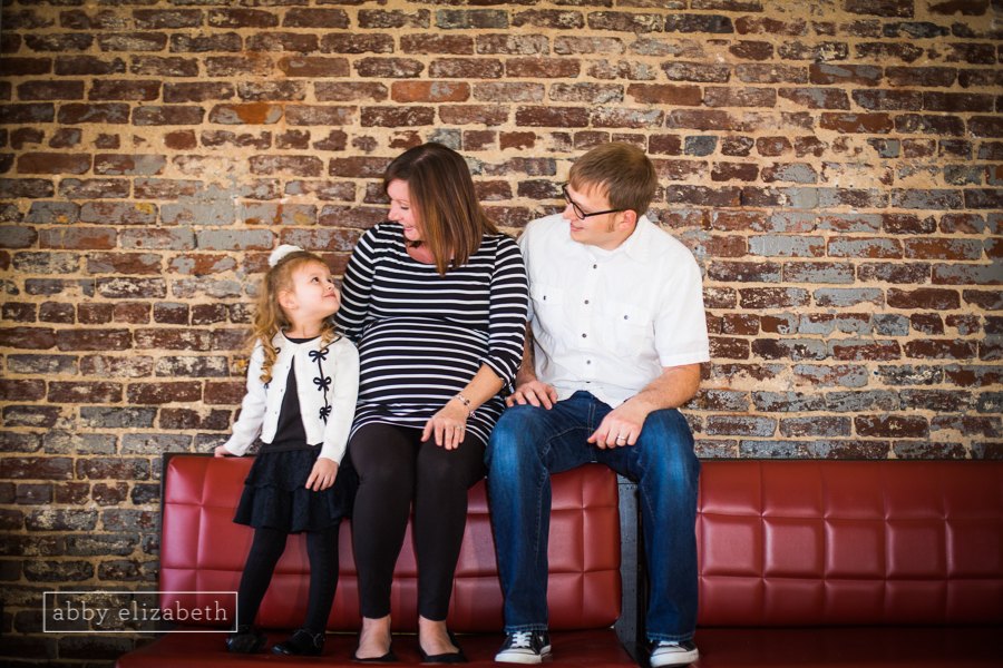 One of the cutest family/maternity sessions in Downtown Knoxville! Full Blog Here.