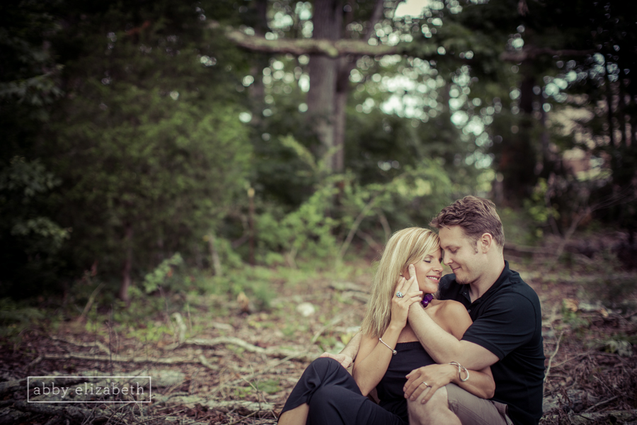 Summer Love was written all over this Jackie and Josh's face during this engagement session!