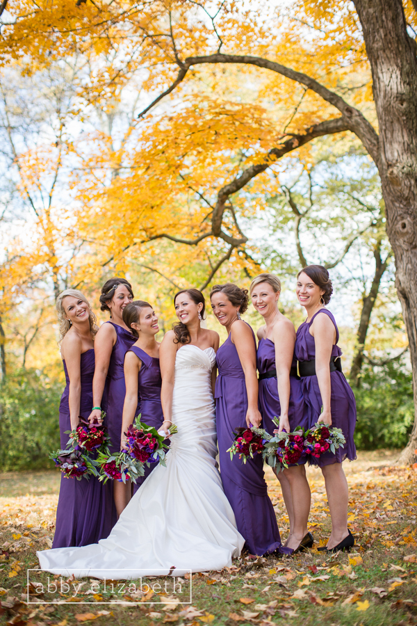 Emily and Travis got married on a beautiful fall day at House on the Hill and their reception was at The Capitol. The entire wedding was absolutely stunning! I love everything about this wedding especially the beautiful Purple that is complimented perfectly against the golden leaves!  Full blog here