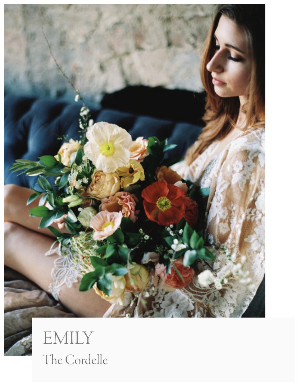 Emily Boudoir Photoshoot The Cordelle