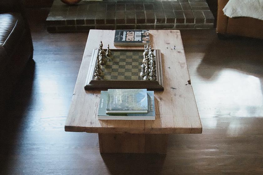 Cody Oak Coffee Table