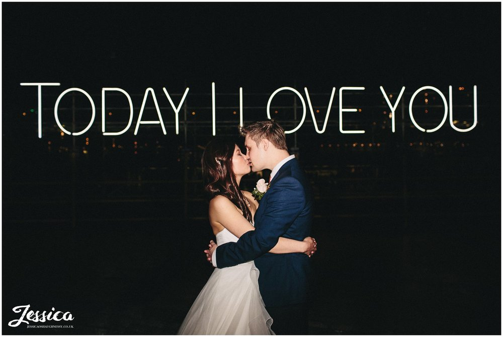 Today I love you - manchester wedding photographer