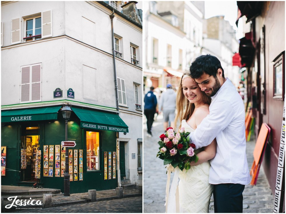 destination wedding photographer - couple married in mont marte
