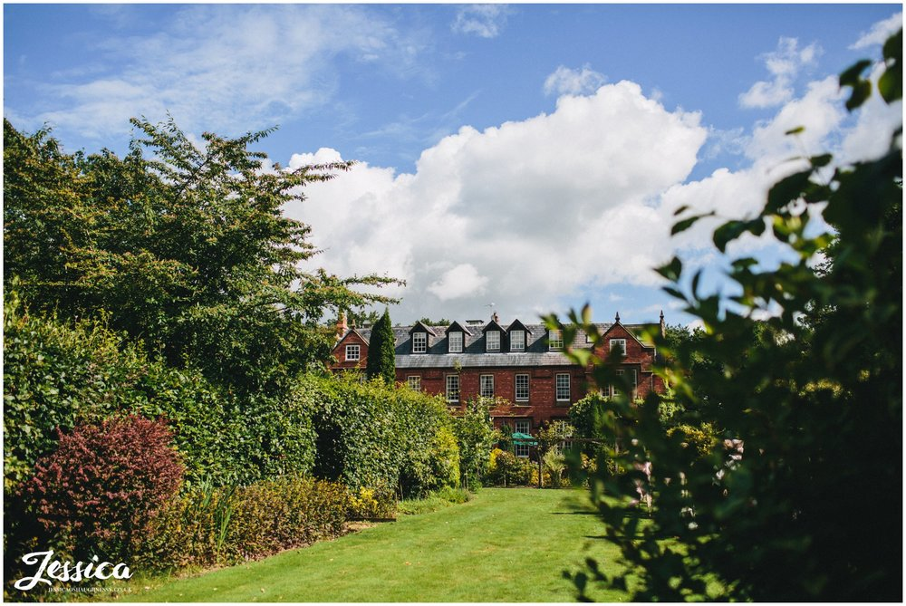 Nunsmere Hall wedding venue in Cheshire