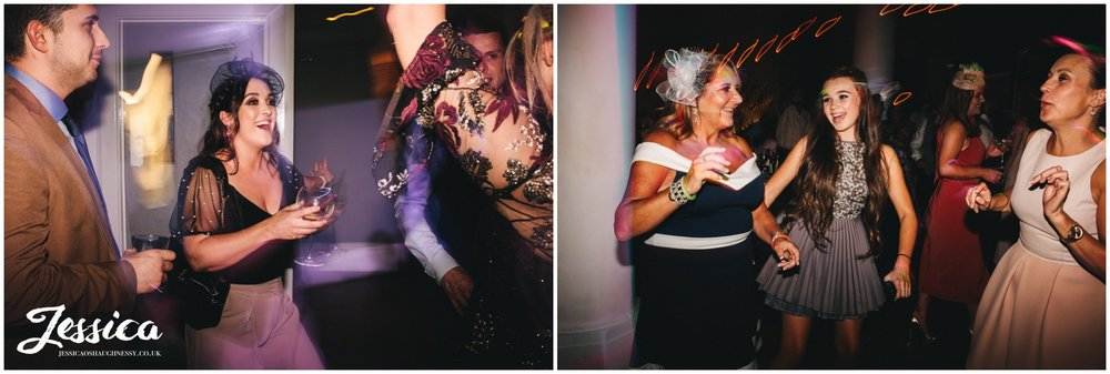 guests dancing at oh me oh my, a liverpool city centre wedding venue