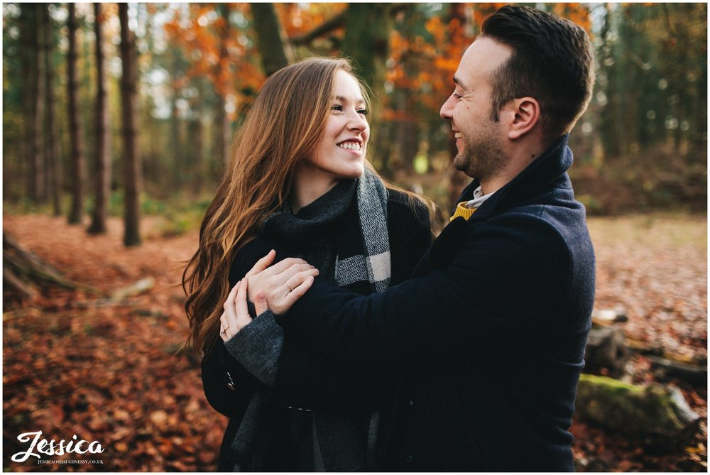 delamere forest wedding shoot, cheshire