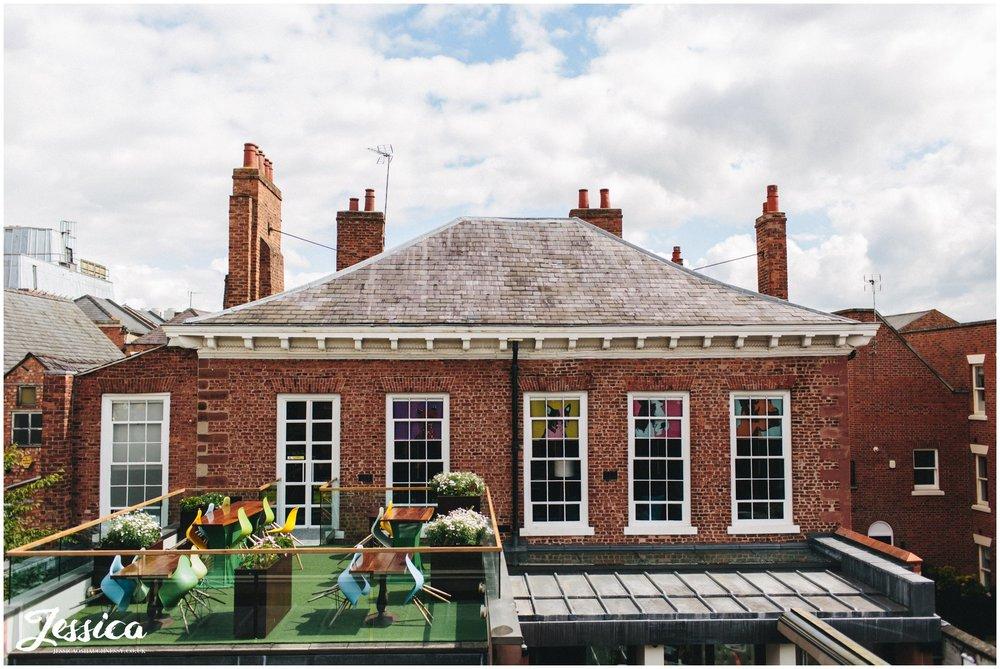 the Chester wedding venue, Oddfellows