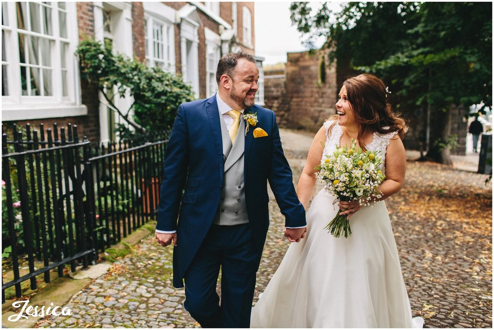 chester wedding photography at Oddfellows