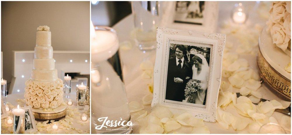 wedding details decorate the wirral wedding venue