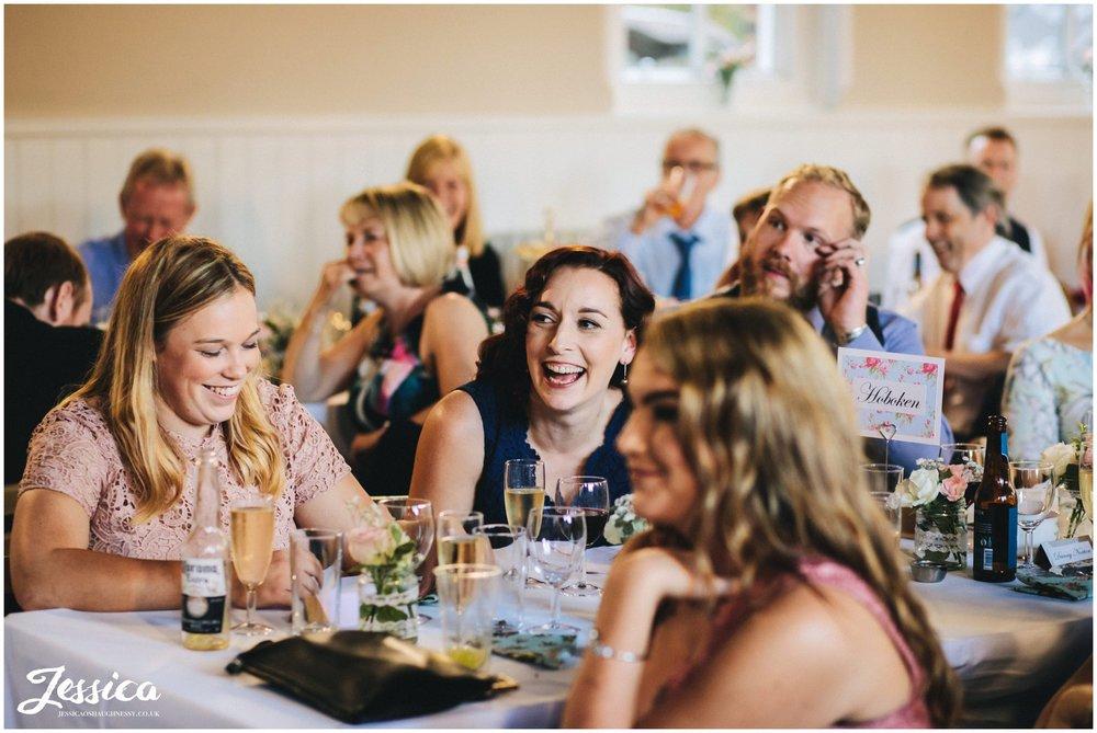 bridesmaids laugh out loud