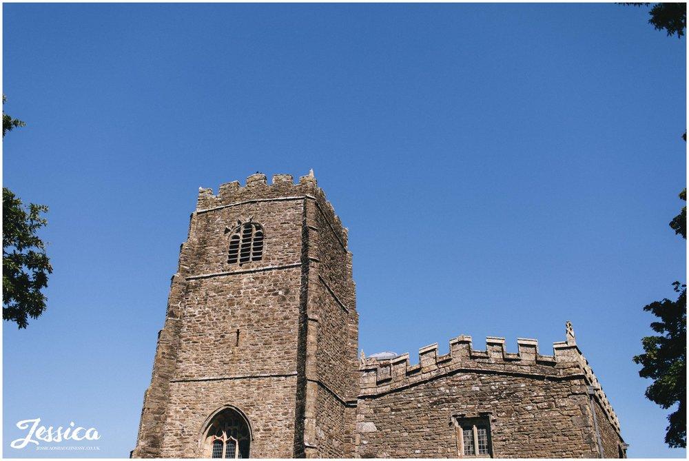 st beuno's church in Caernarfon, North Wales