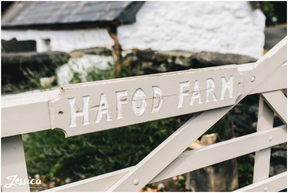 A Hafod Farm wedding in North Wales