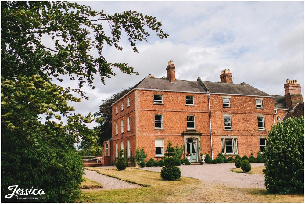 sugnall hall wedding venue in staffordshire