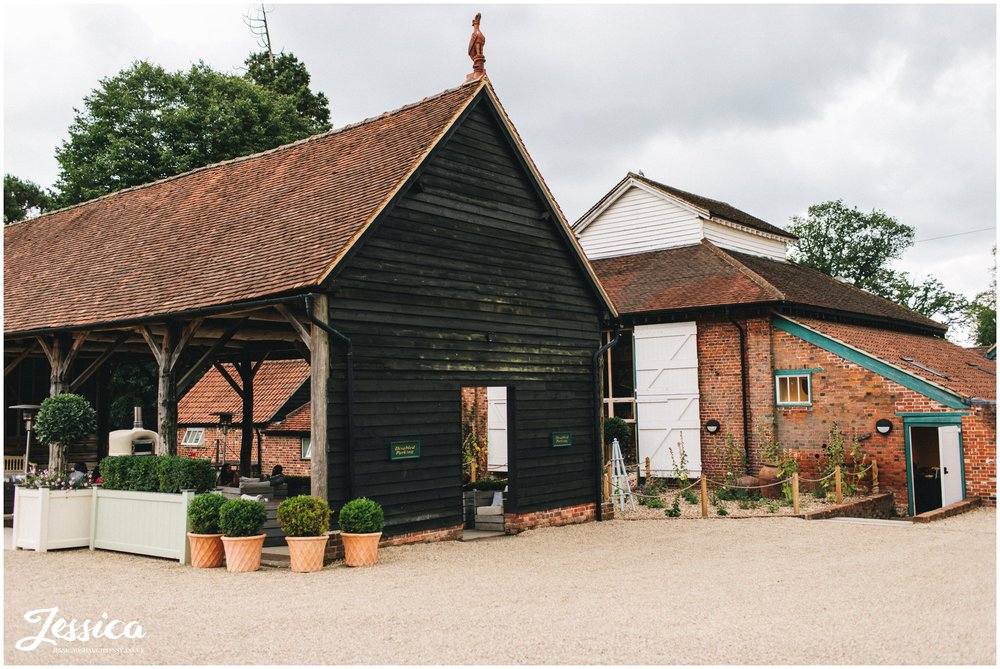 gaynes park in epping, a london barn wedding venue