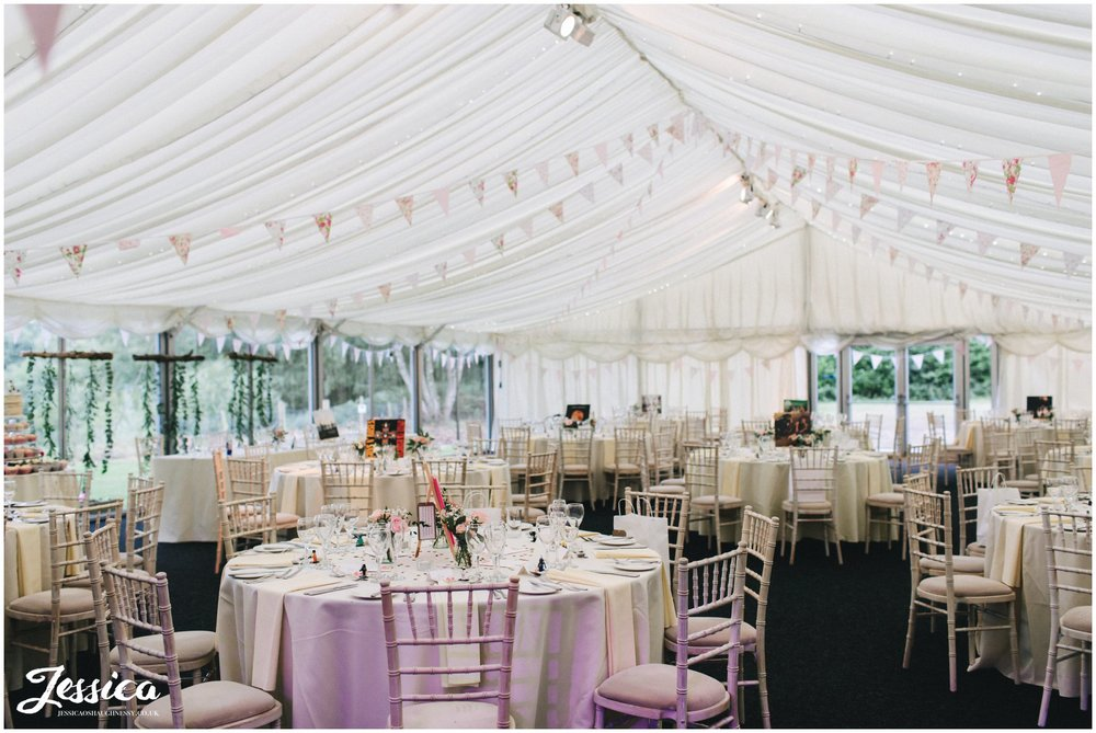 nunsmere hall wedding breakfast room