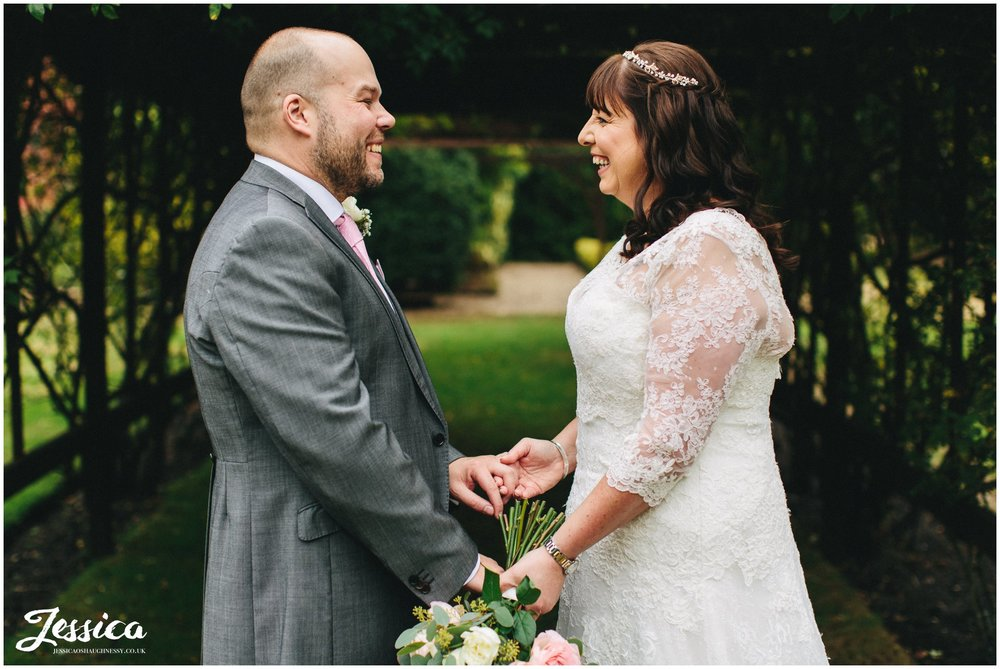 Nunsmere Hall wedding in Cheshire