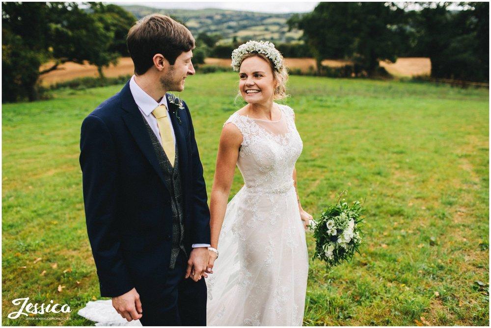 Clawdd Offa Farm Wedding