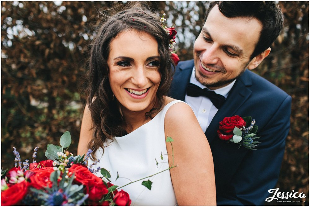 a winter wedding at pryor hayes golf club