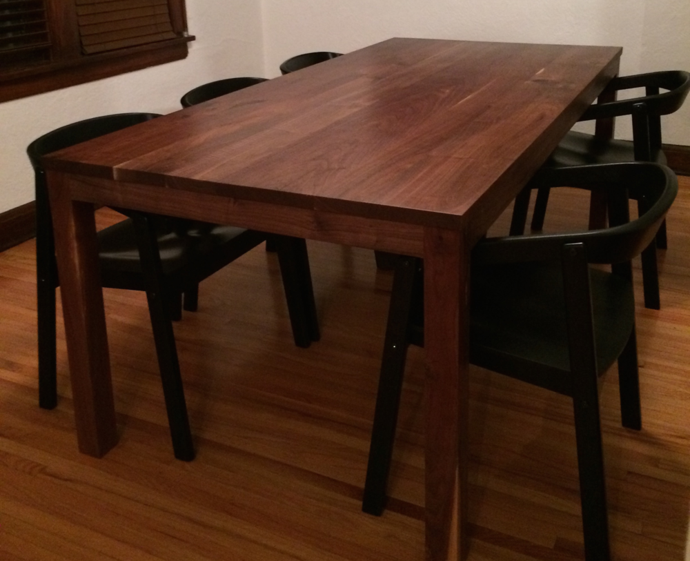 table by handmade ross dana rosswoodwork custommade made custom woodwork com parsons