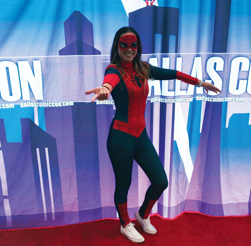 Me as Spidergirl.