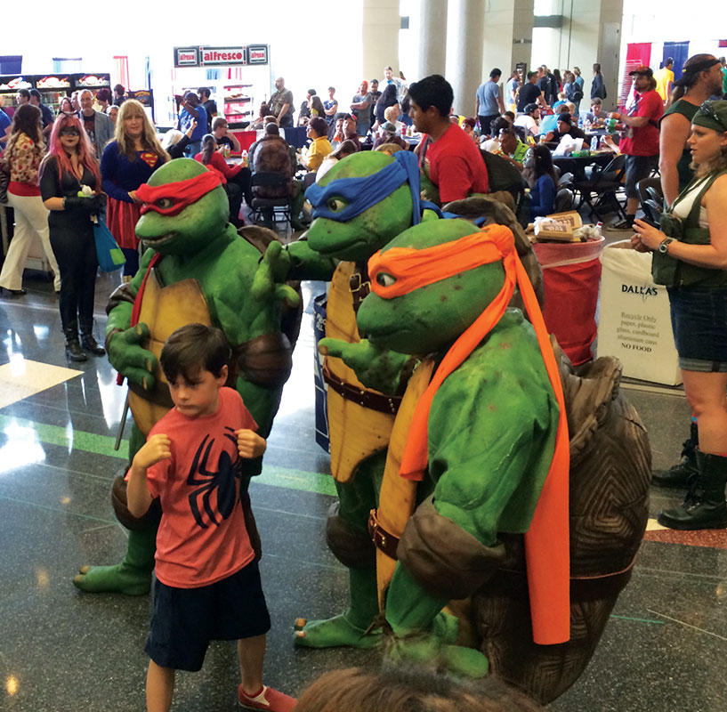 The freaking Ninja Turtles!!! Need I say more?!