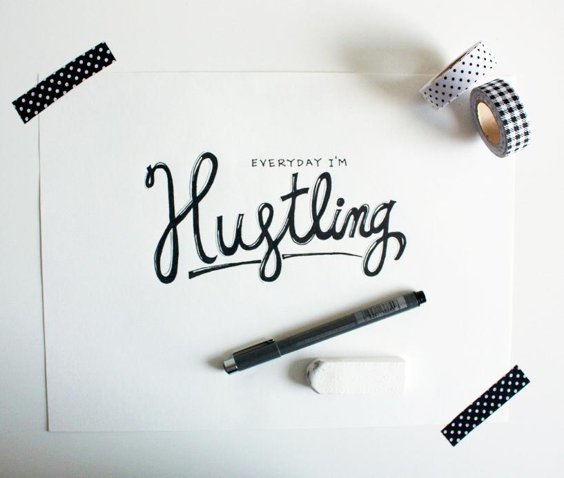 Everyday Im Hustling Mel Dallas Lifestyle Geek Blogger