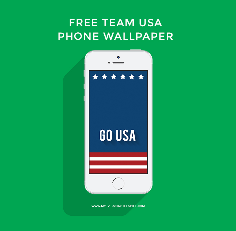 Click here to download 'GO USA' iPhone 5 wallpaper and here to download 'GO USA' Samsung Wallpaper.