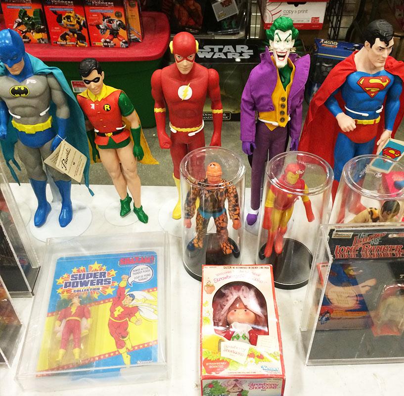 Vintage toys galore.