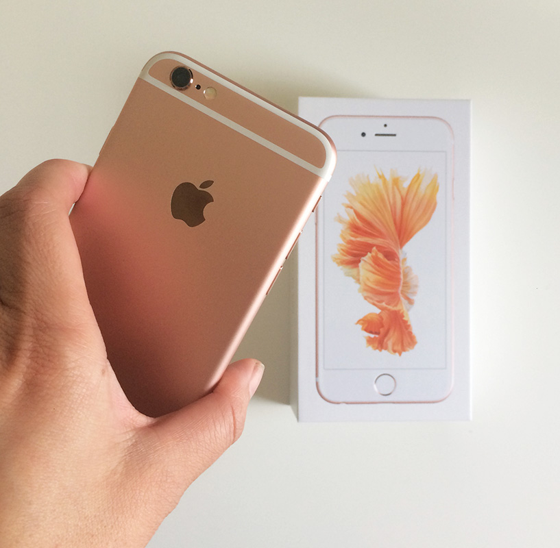 rose gold iphone 6s review mel dallas lifestyle. Black Bedroom Furniture Sets. Home Design Ideas
