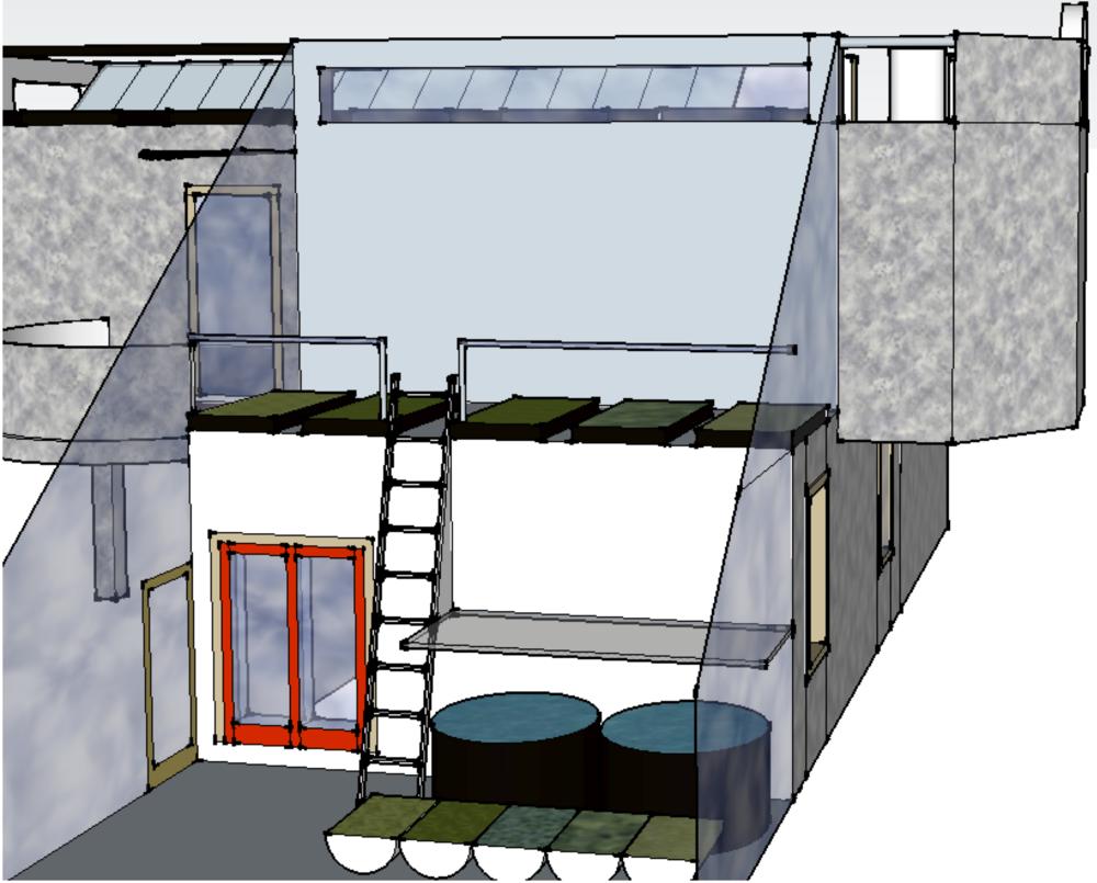 Building Utility Area