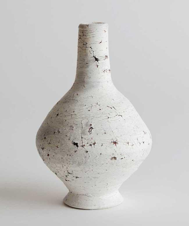 Matthias Kaiser. Cracked Slip Vase.