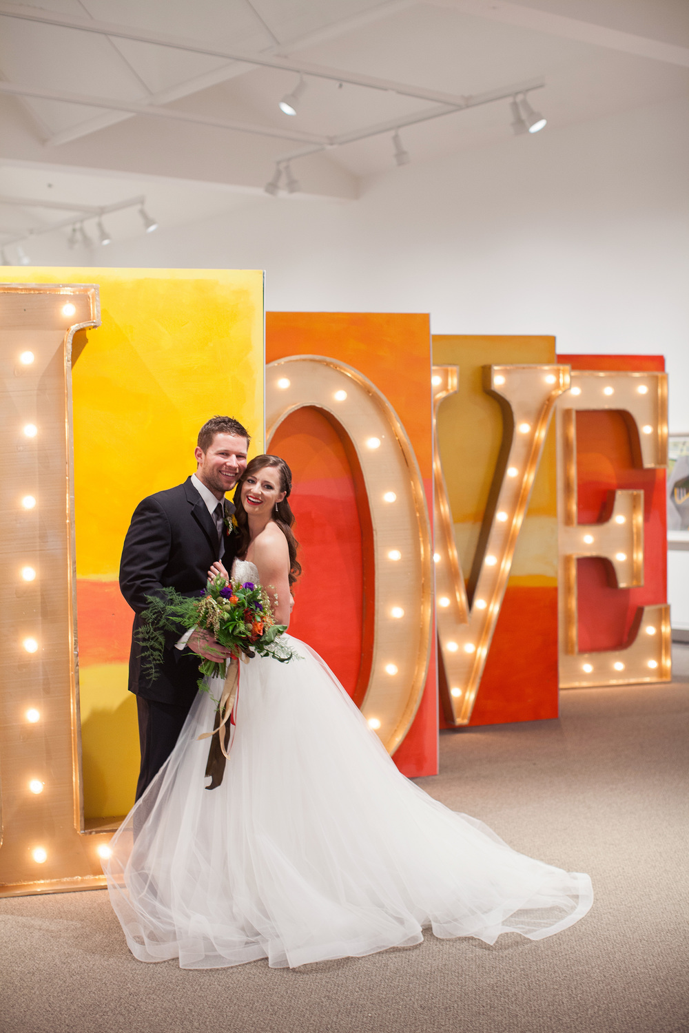 Artistic Vibrant Wedding