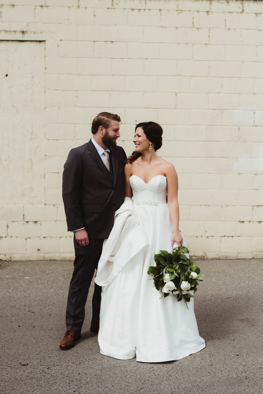 Industrial-Chic Blush Wedding