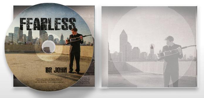 "Album artwork for ""Fearles,"" 2013."