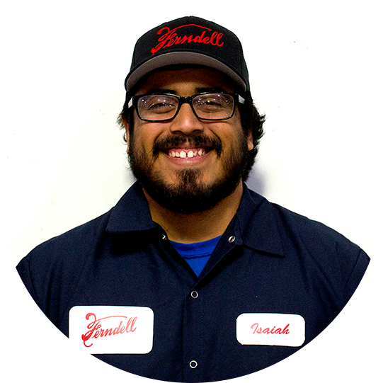 Position:  Logistics   Years at ferndell:  1.5   What you like most about working at Ferndell  Teamwork   Favorite coffee or tea beverage  Nitro Cold Brew and Heirloom Blend   What do you enjoy doing outside of work  Spending time with family and basketball