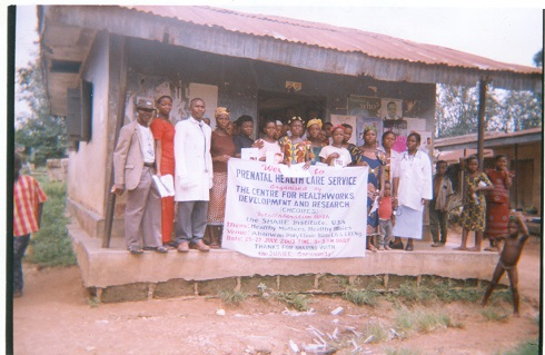 CHEDRES Project Team and Pregnant Women.jpg