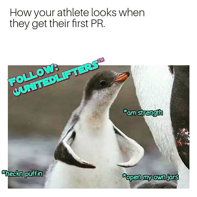 😂😂😂 we love seeing our members PR, but we love the confidence the PRs bring more! #openingjarsalldayerrday #datgripstrength