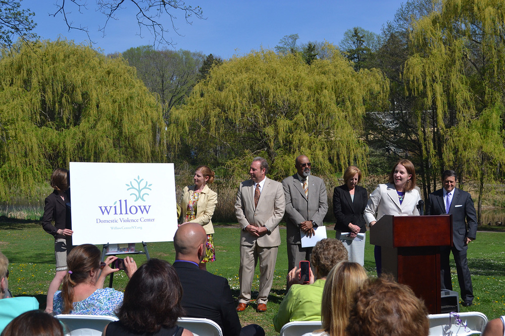 Media launch for the Willow re-branding