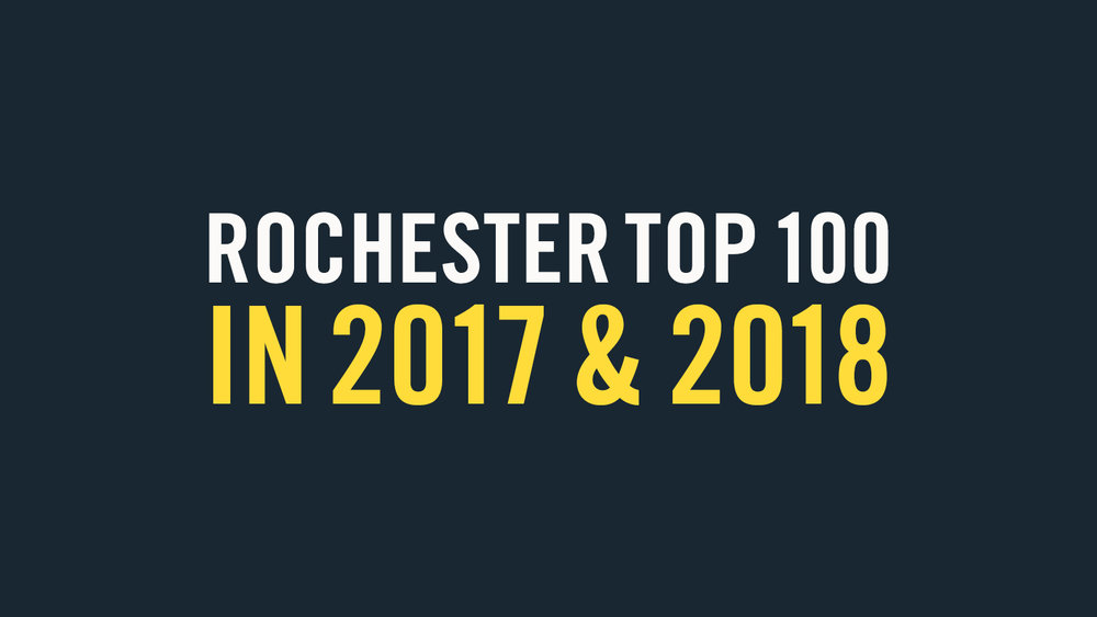 Rochester's fastest-growing marketing or media company since 2017.