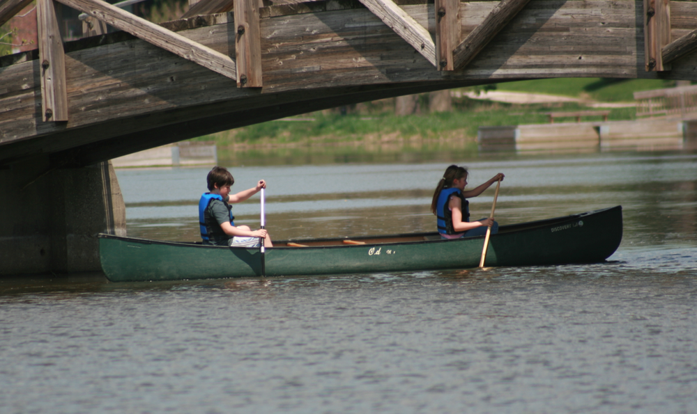 Canoeing Outdoor Education