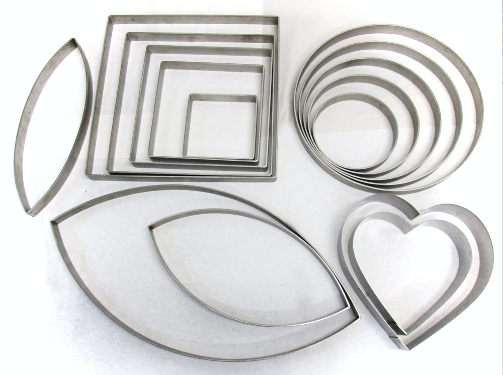 52bcd1b71f29 Our formers are made by us from 12 guage stainless steel and it is flat  welded so there are no bumps that will impact your glass.